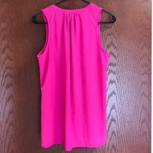Ava & Grace Tops - Hot Pink Sleeveless Top